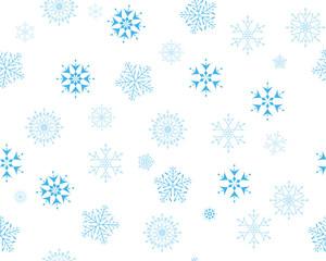 seamles snowflakes