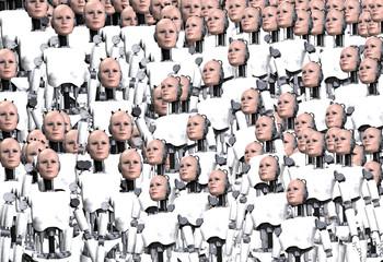 Lots Of Robot Women 5