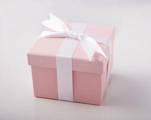 Pink gift box