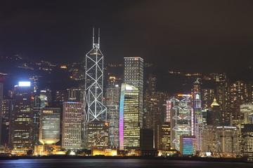 Hongkong Skyline at night