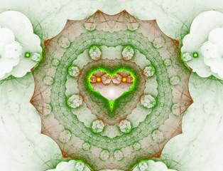 The Fractal Heart