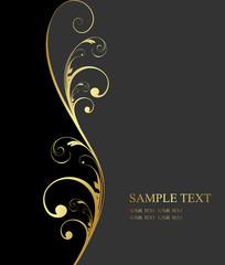 design golden background