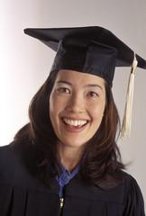 japanese american female college graduate