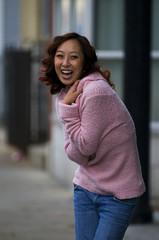 Fashion Pink Sweater
