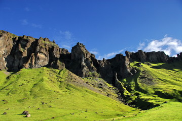 Rocky Mountains of Iceland