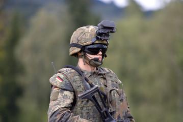 moderner Soldat