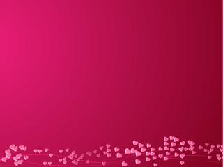 Nuage de coeur - Saint-Valentin