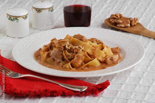 Pappardelle coniglio e noci - Primi piatti - Cucina del Veneto ...
