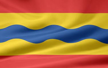 Flagge von Overijseel  - Niederlande