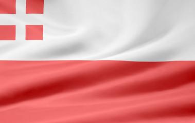 Flagge von Utrecht - Niederlande