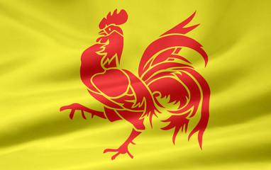 Flagge von Wallonien - Belgien