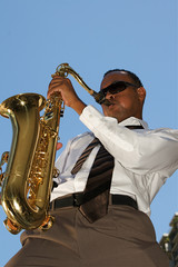 Hip Young Saxophonist