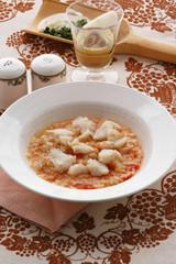 Risotto con tinca del garda - Primi piatti - Cucina del Veneto