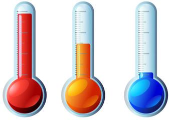 Thermomètre coloré (détouré)