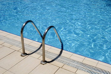 LADDER TO SWIMMING POOL