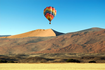 Garden Poster Brown Namibia - Dune di sassusvlei