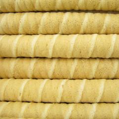Wafer roll sticks cream rolls
