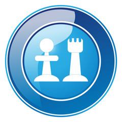 Schach-Matt - Button