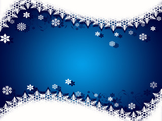 Ice Christmas background