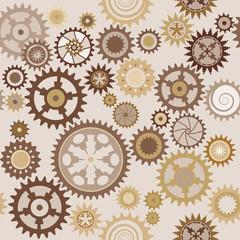 Clock cogwheels pattern 1.2