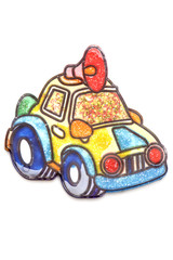 painting toy car