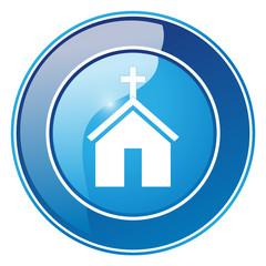 Kirche - Button