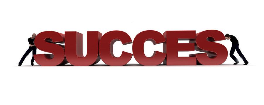Homme presente succes
