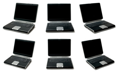 six isolated computers