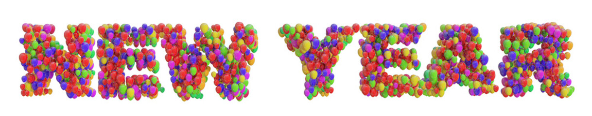 New Year from Balloons