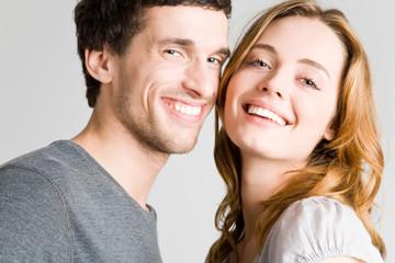 Lachendes Paar