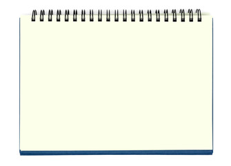 Yellow Blank Notebook Sheet