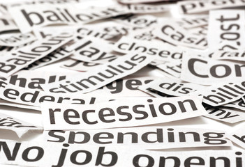 Recession headlines