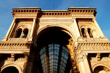 Downtown Milan-Vittorio Emmanuelle