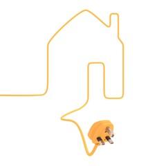 A house needs electricity (UK version)