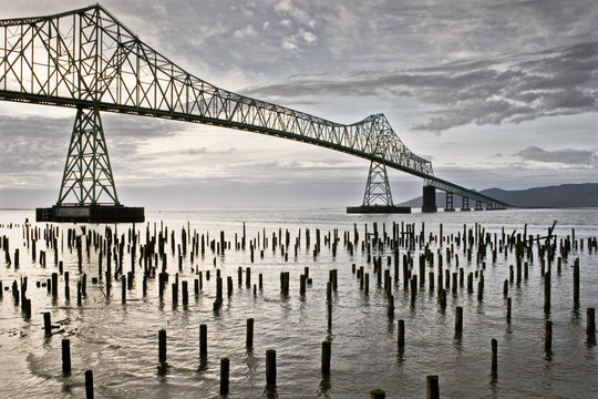 Astoria bridge and waterfront