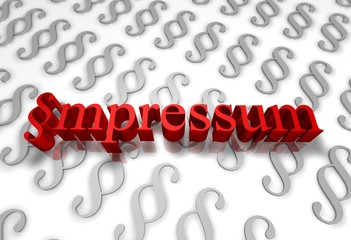 Impressum-Recht