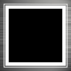 Brushed Aluminum Frame