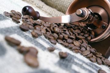 Tuinposter koffiebar café arabica prêt à moudre