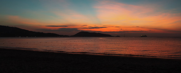 Phuket Sunset Panorama