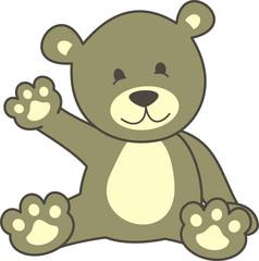 Keuken foto achterwand Beren oso saludo