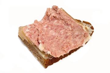 Hausmacher Wurst auf Brot