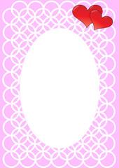 Valentine's photo frame