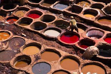 Tannerie Chouara, Fès, Maroc