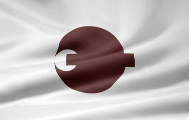 Flagge von Nara - Japan