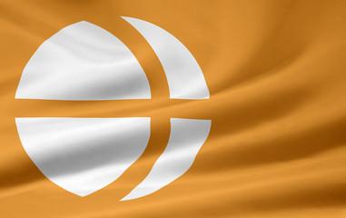 Flagge von Nagano - Japan