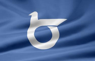 Flagge von Tottori - Japan