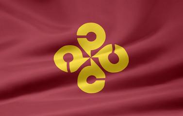 Flagge von Shimane - Japan