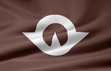 Flagge von Yamaguchi - Japan