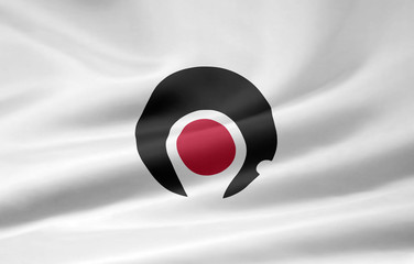 Flagge von Kagoshima - Japan