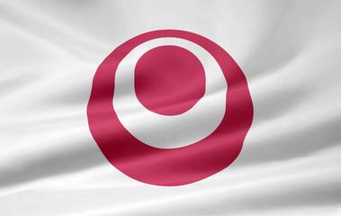 Flagge von Okinawa - Japan